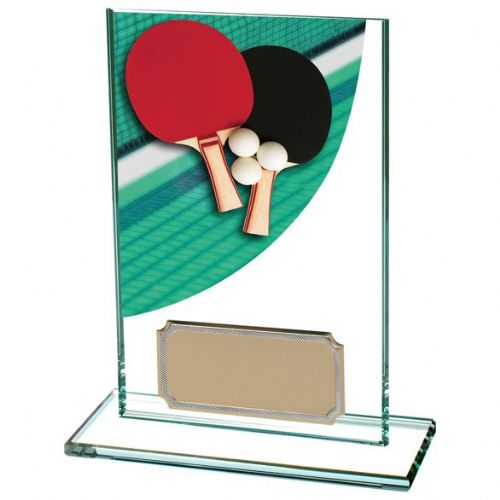 Colour-Curve Table Tennis Jade Crystal 125mm